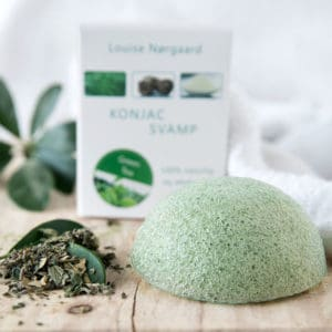 Konjac Svamp Green Tea – Allar húðtyper & anti-anging