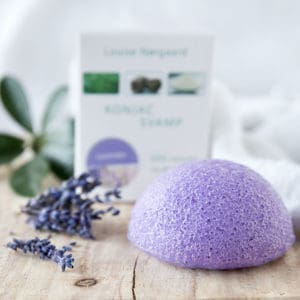 Konjac Svamp Lavender – Sarta, reyða og stressaða húð