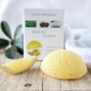 Konjac Svamp Lemon – ímótur pigementfeil