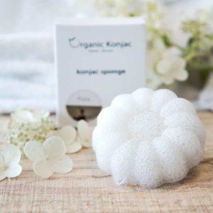 Konjac Svamp Pure Flower ( til babyer & børn)