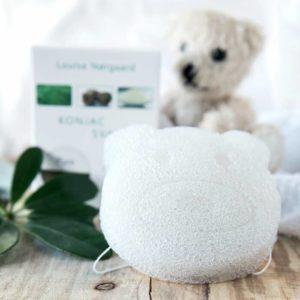 Konjac Svamp Pure Bear (til babyer & børn)