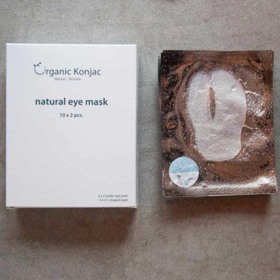 Eye Mask, Organic Konjac 1 stk