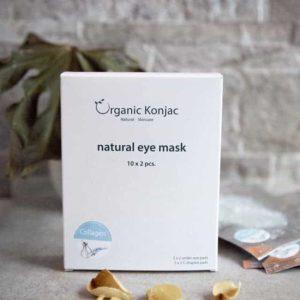 Eye Mask, Organic Konjac 10x 2 stk