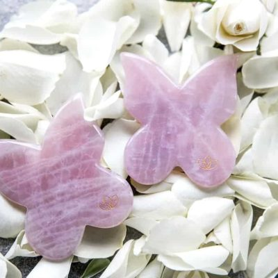 Butterfly Face & Body Gua Sha – Rosakvarts
