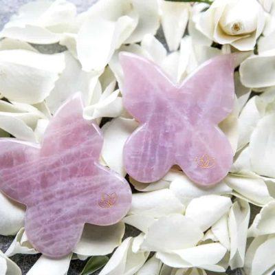 Butterfly Face & Body Gua Sha – Rosakvarts