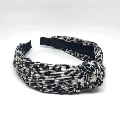 Nr. 149 Plissé Leopardbrun