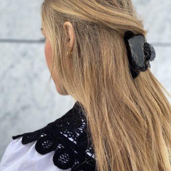 FENJA Hårklemme – Black Stripe